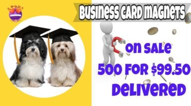 Business card magnets on sale in Greenwood Lake, NY