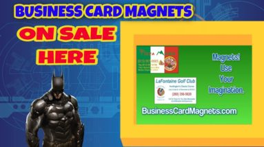 Buy Advertising Business Card Magnets | Business Card Magnets On Sale