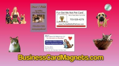 Buy Custom Rectangular Magnets Business CardMagnets For Sale
