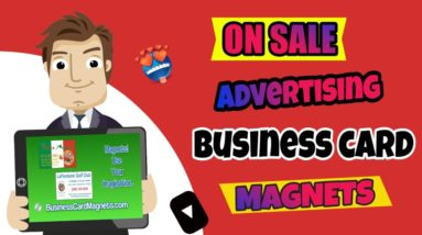 Buy Promotional Magnets Business Card Magnets | On Sale |