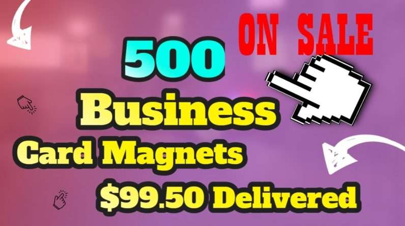 Thick Business Card Magnets. Get the best quality Magnets You Need Here!