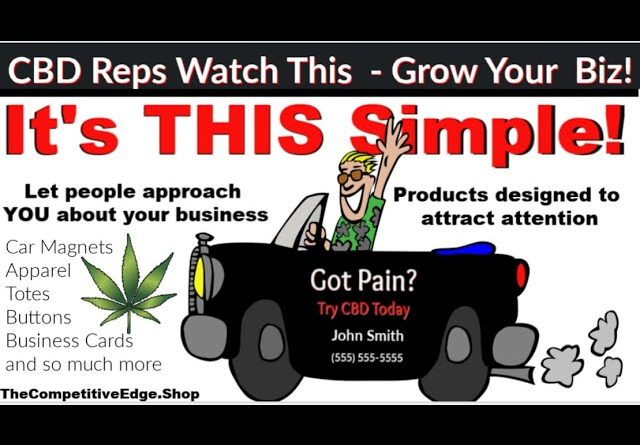 CBD Reps, Get Your Matching Car Magnets & Business Cards HERE!